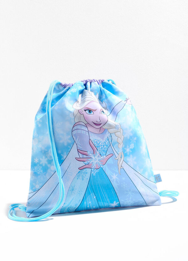 Bag with maxi Frozen print