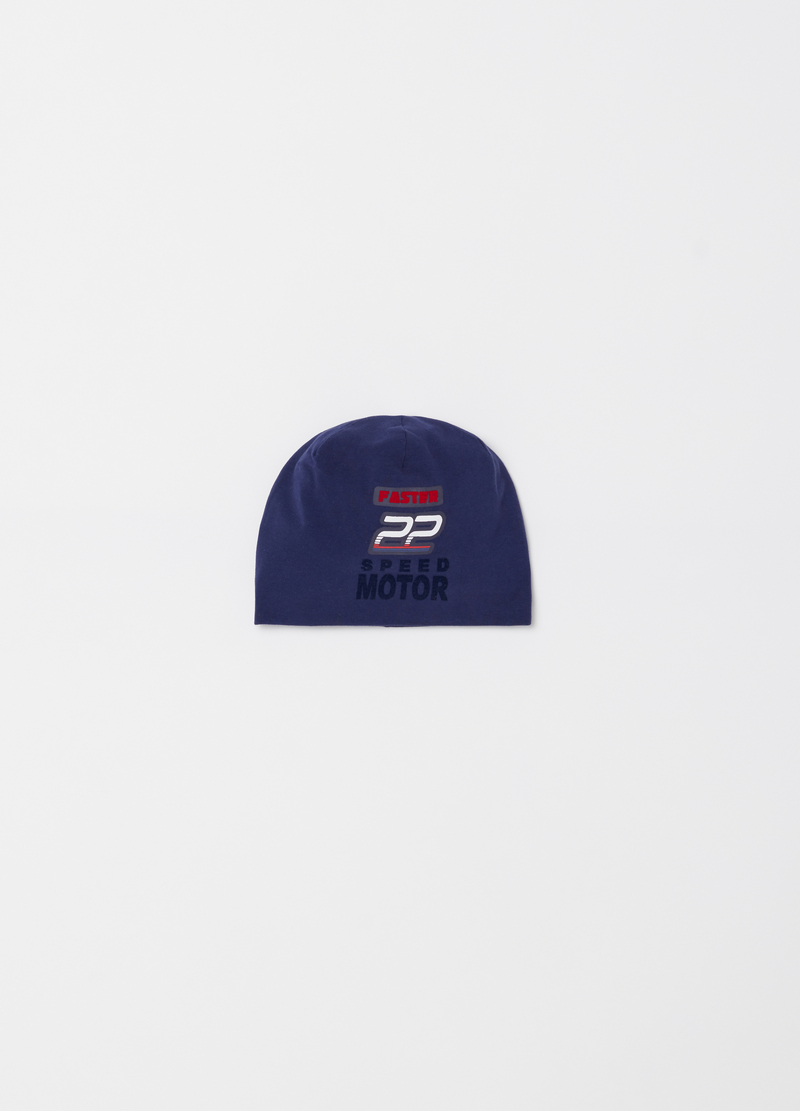 Jersey cap with print and applications image number null