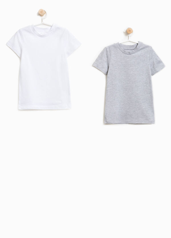 Two-pack organic cotton under shirts | OVS