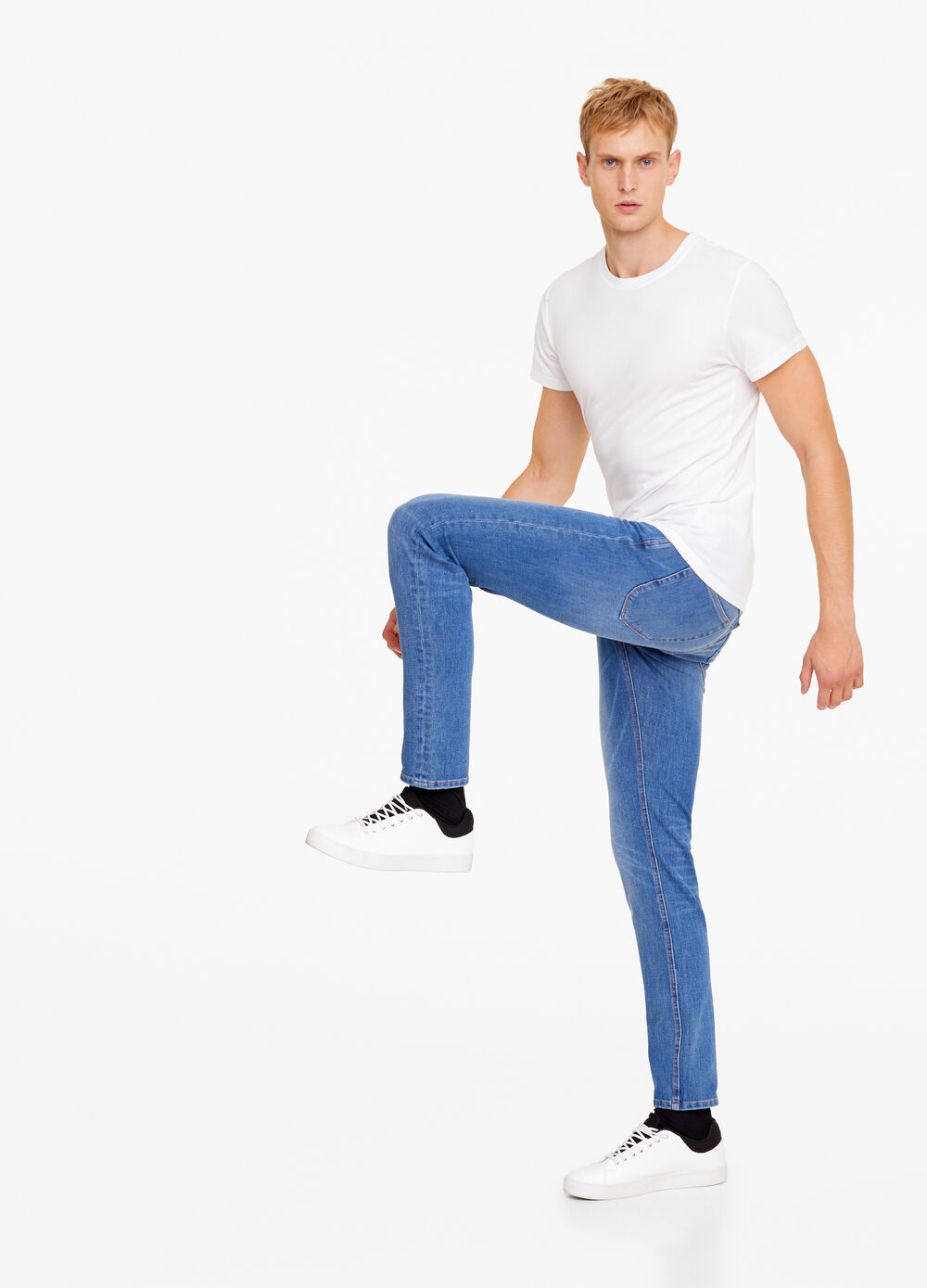 Jeans slim fit dual stretch used