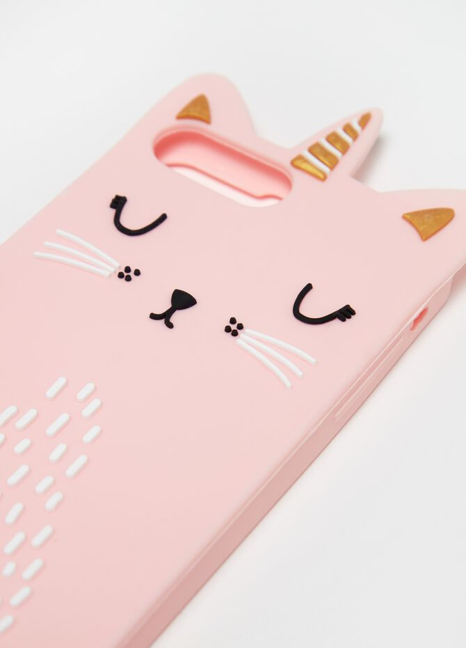 Telephone cover with cat applications