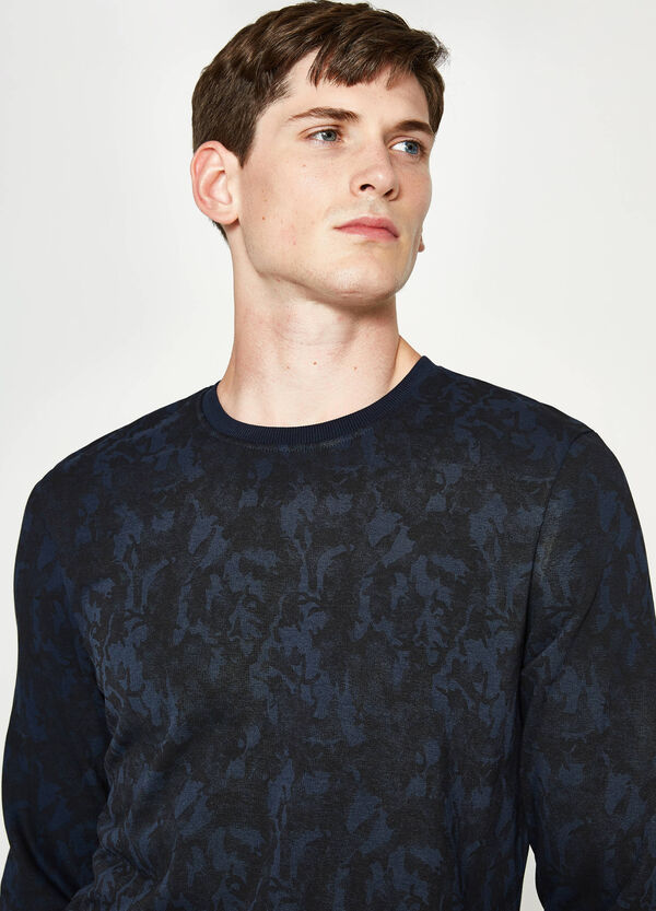 Cotton pullover with pattern | OVS