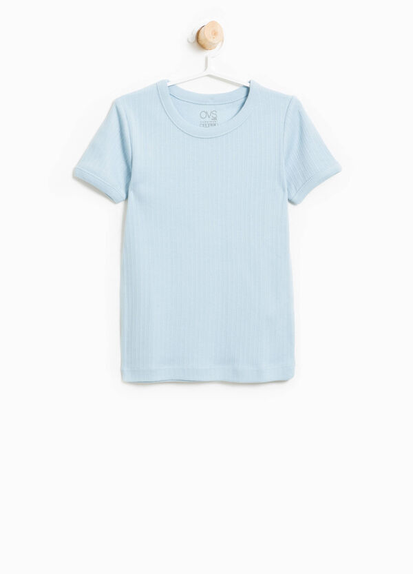 Ribbed cotton undershirt | OVS