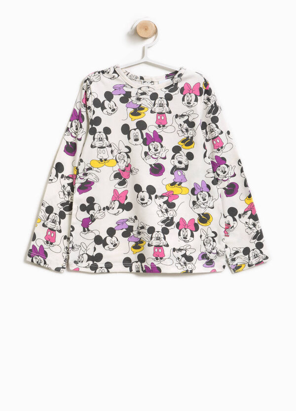 Mickey and Minnie Mouse patterned T-shirt | OVS