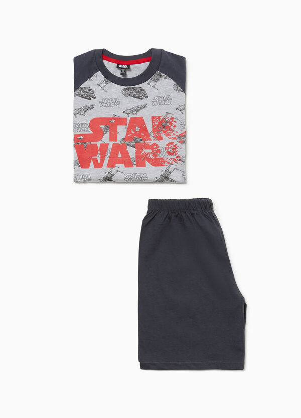 Cotton pyjamas with Star Wars pattern