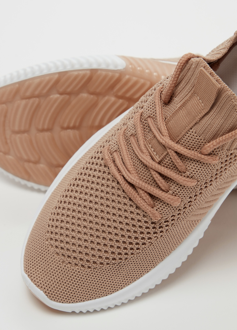 Sneakers flyknit suola alta image number null