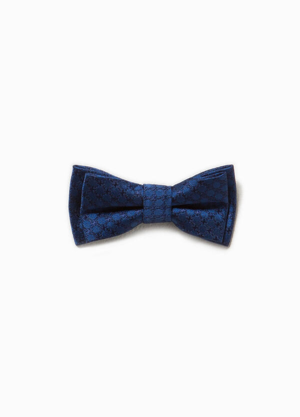 Cotton bow tie with diamond weave | OVS