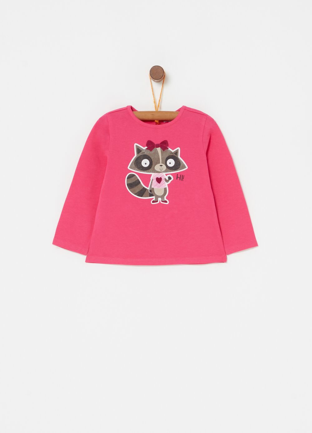 Biocotton ferret T-shirt with long sleeves