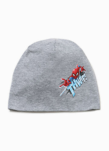 Cappello a cuffia stampa Spiderman