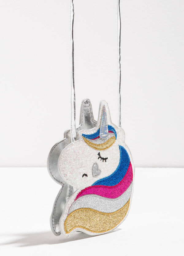 Glitter unicorn shoulder bag | OVS