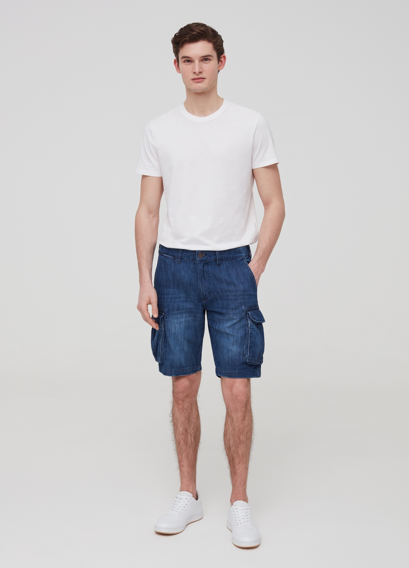 Bermuda regular fit modello cargo image number null