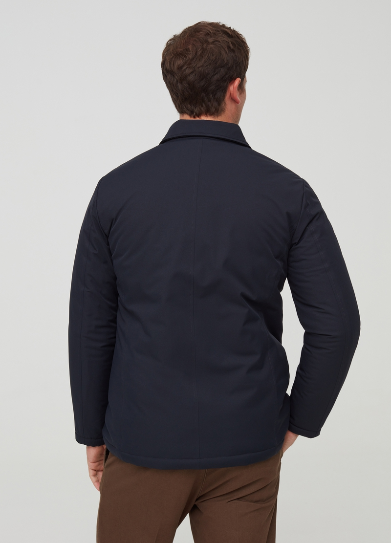 PIOMBO padded jacket with pockets image number null