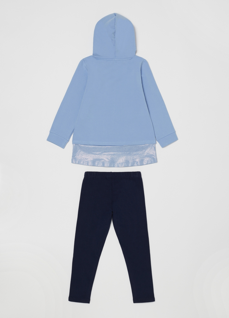 Jogging set con stampa Disney Frozen image number null