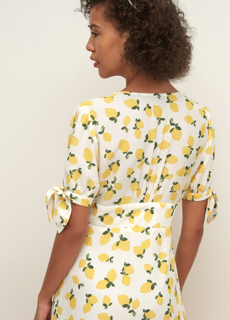 Nobody's Child dress with knotted sleeves image number null
