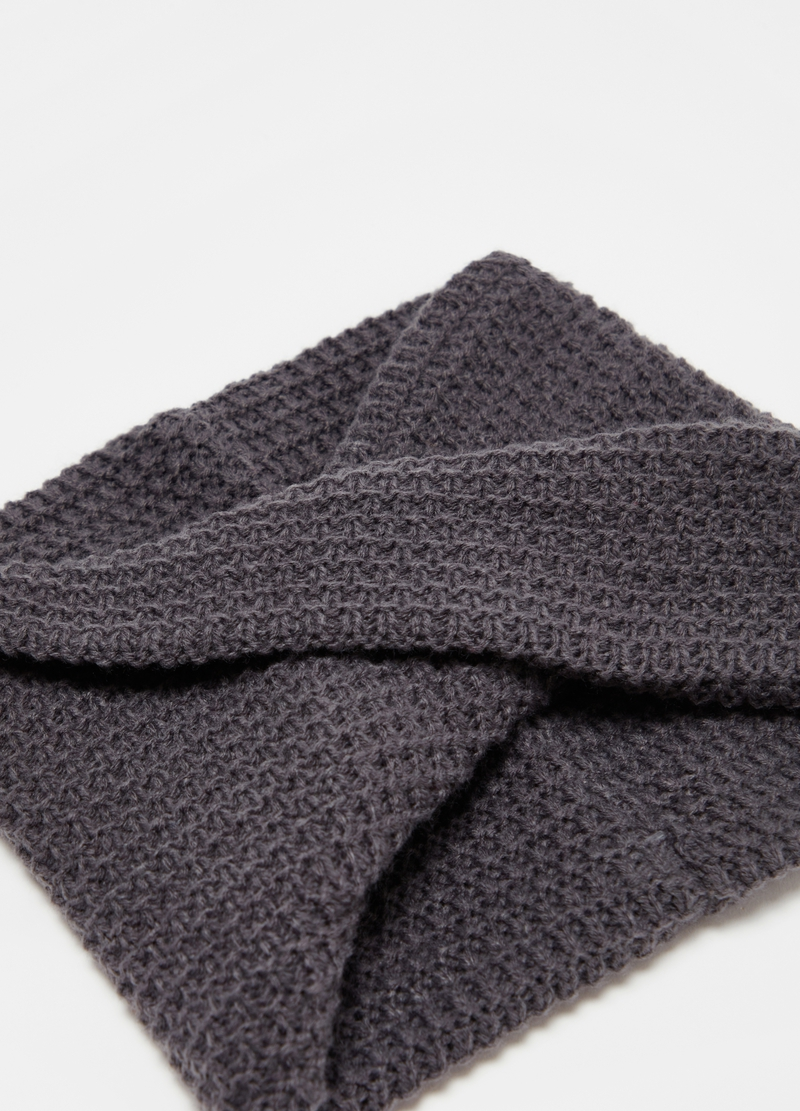 Neck warmer with crossover image number null