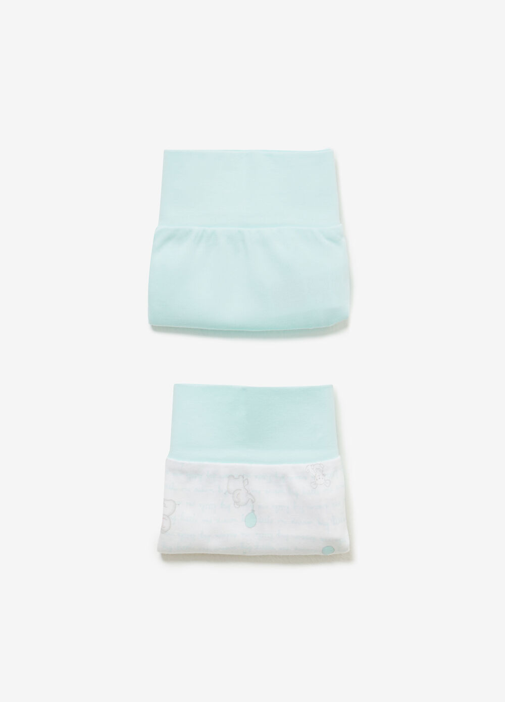 Two-pack 100% cotton briefs patterned and solid colour