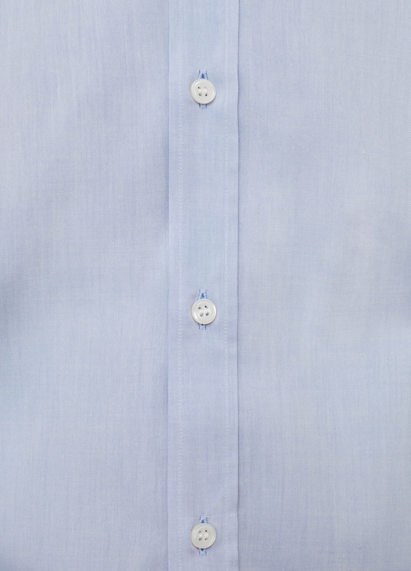 Regular-fit shirt in 100% cotton twill image number null