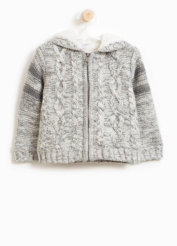 Wool and cotton blend jacket | OVS