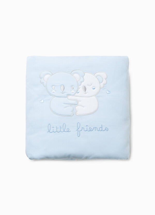 Crib blanket with animal embroidery | OVS