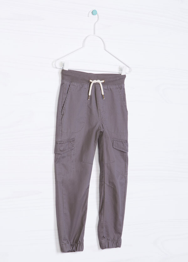 Five-pocket drawstring trousers | OVS