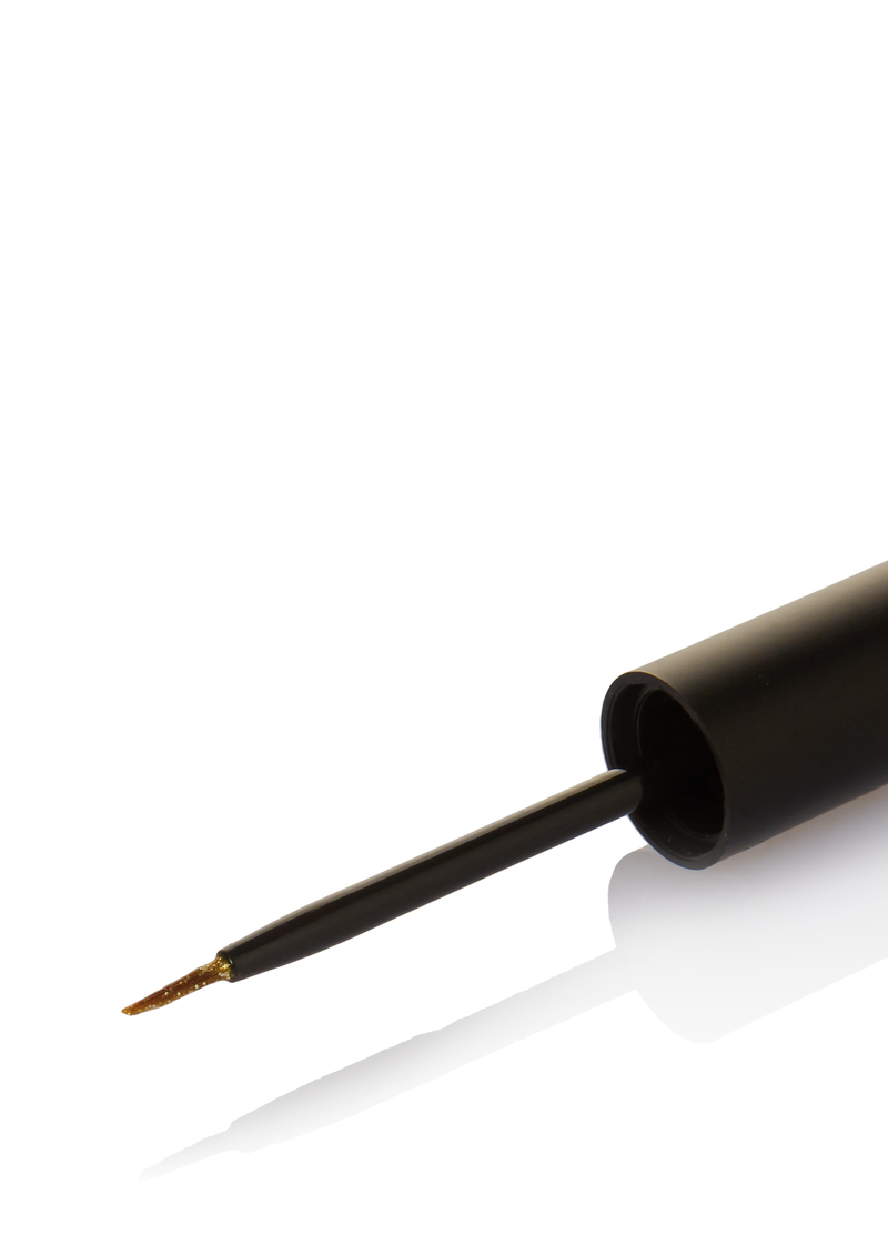 Eyeliner glitterato con pennello image number null