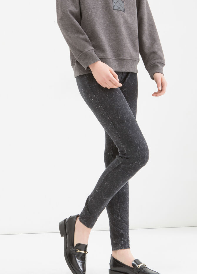 Leggings cotone stretch maltinto