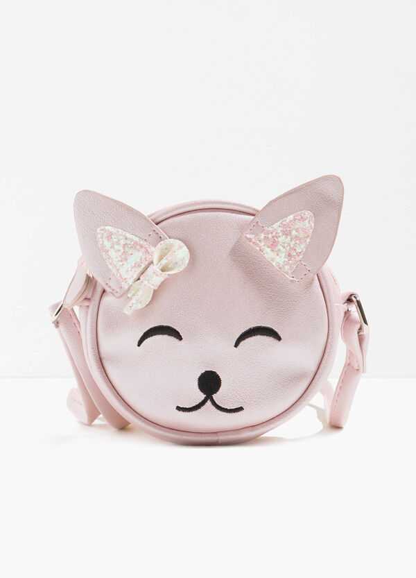 Shoulder bag with glitter ears | OVS