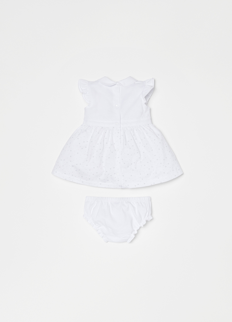 THUN dress and briefs set in organic cotton image number null