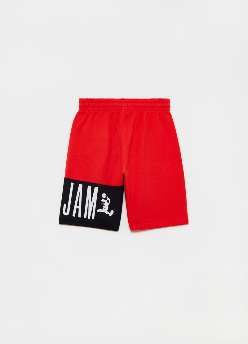 Bermuda shorts with Space Jam insert image number null