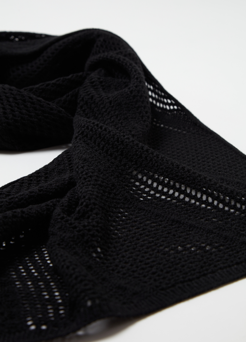 Openwork maxi scarf image number null