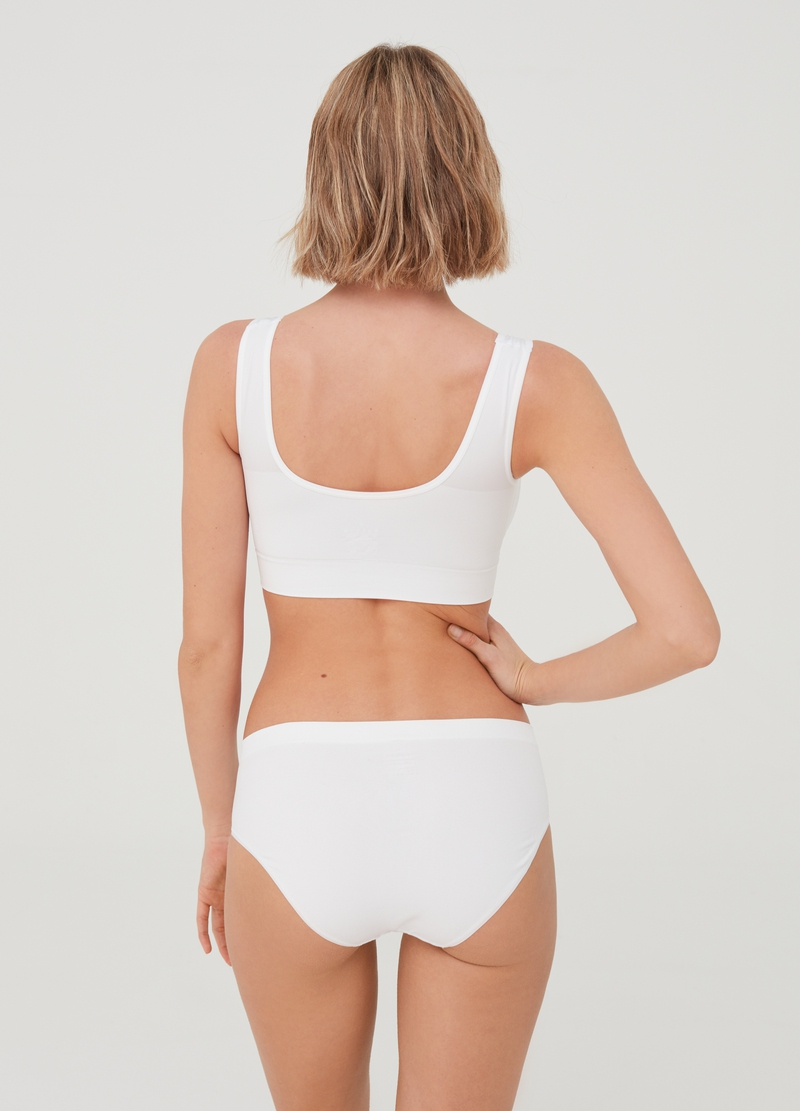 The One - Natural-effect bra top image number null