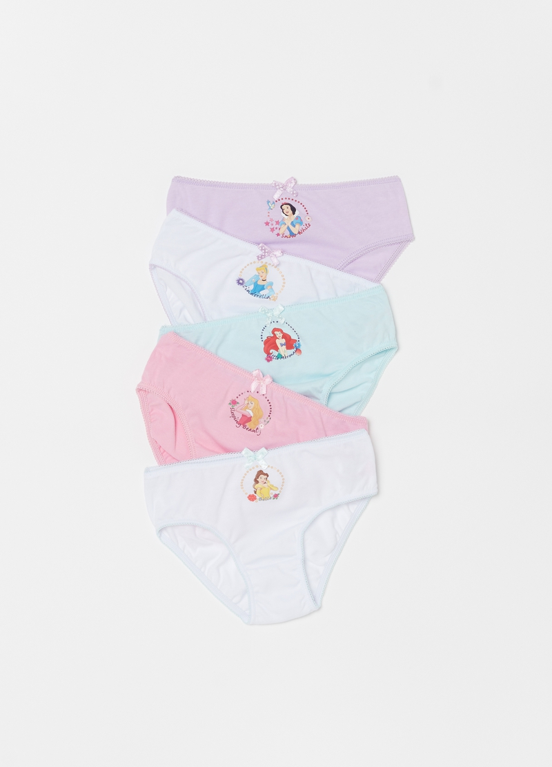 Five-pack Disney organic cotton briefs image number null