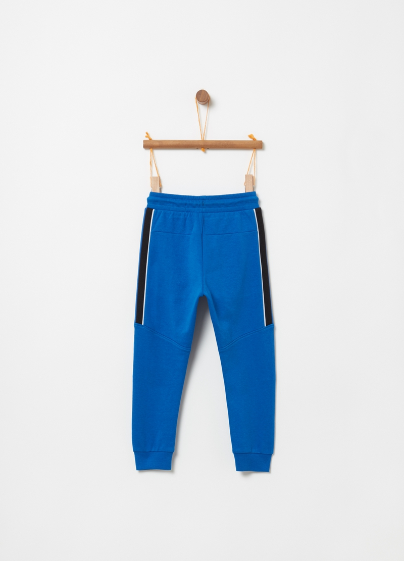 Pantaloni jogger French Terry coulisse image number null