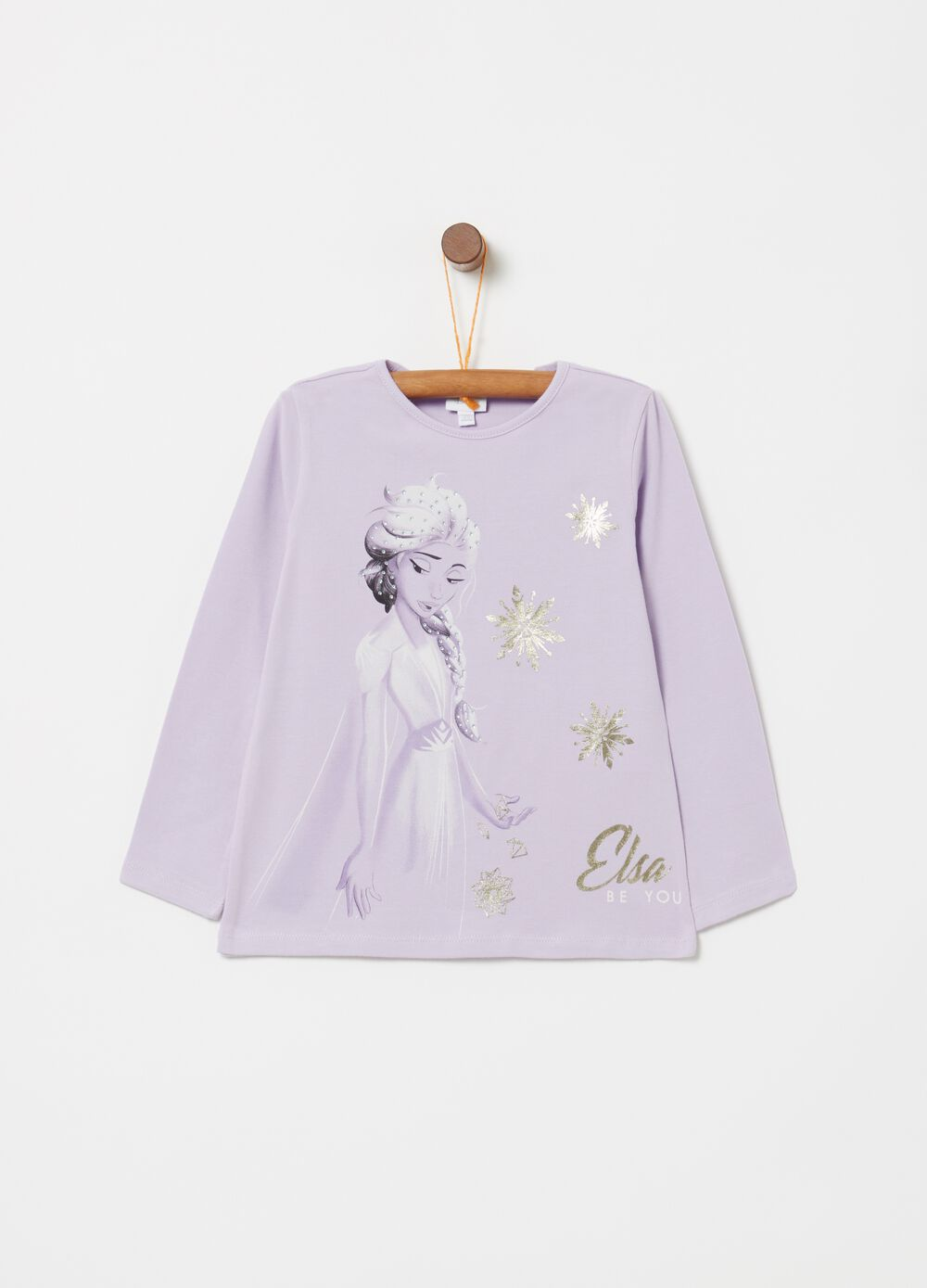 T-shirt in cotone stretch Disney Frozen