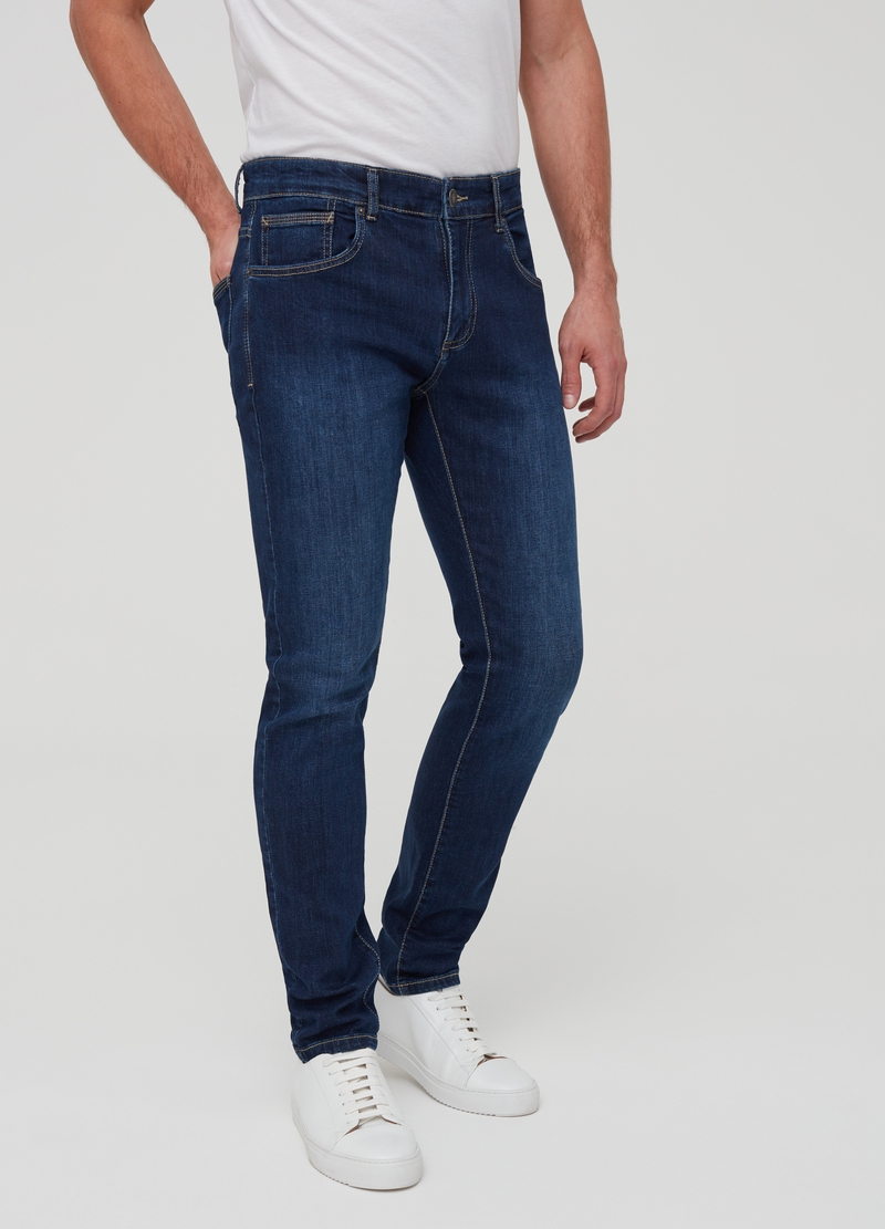 Skinny fit stretch jeans image number null