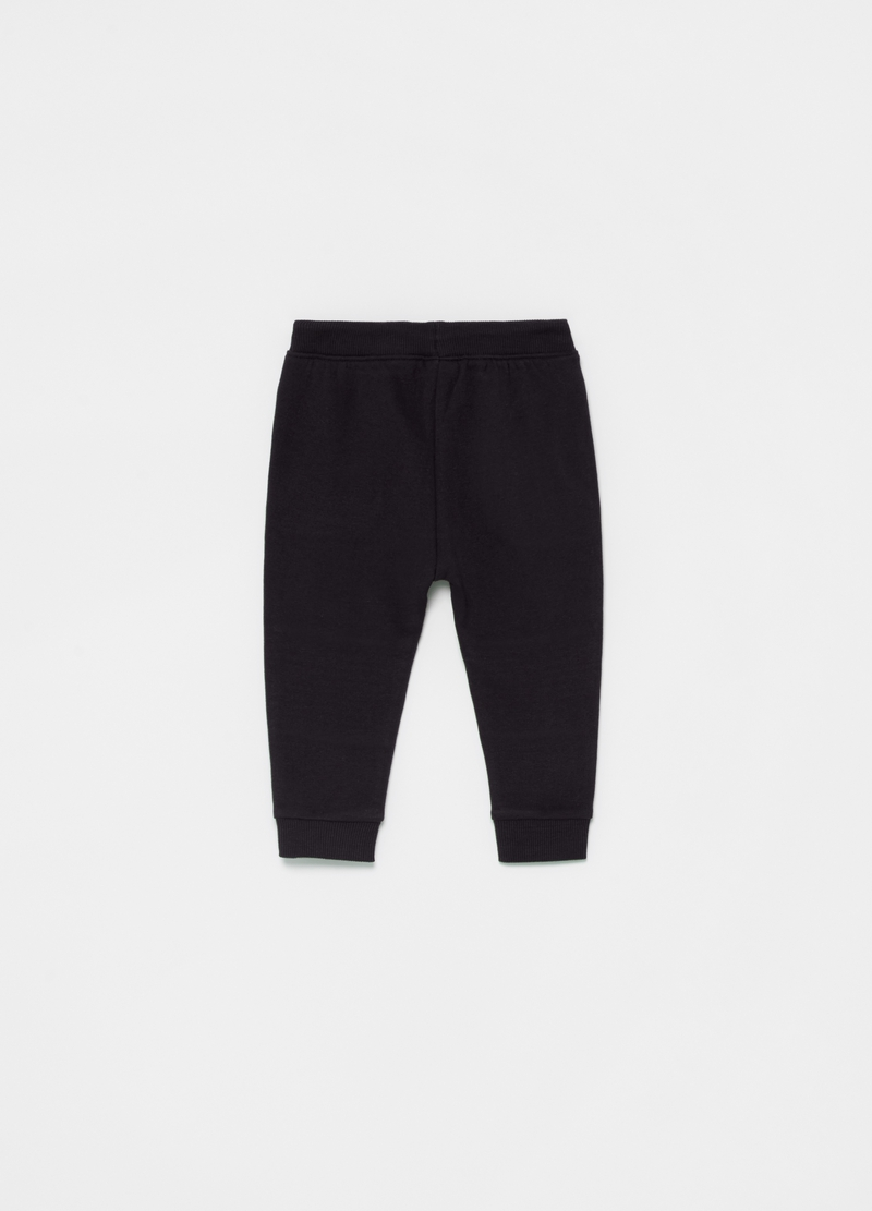Joggers in 100% organic cotton with padding image number null