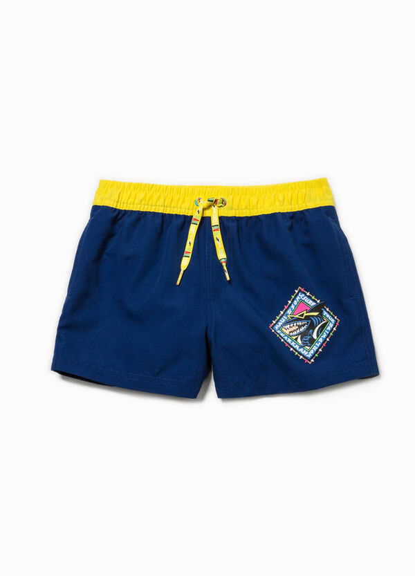 Swim boxer shorts with pockets by Maui and Sons | OVS