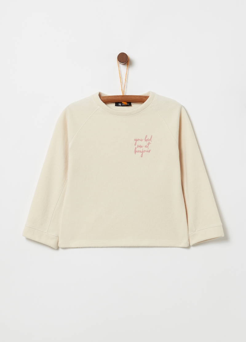 OVS Premium sweatshirt with long raglan sleeves image number null
