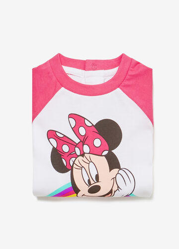 Minnie Mouse sleepsuit in 100% cotton