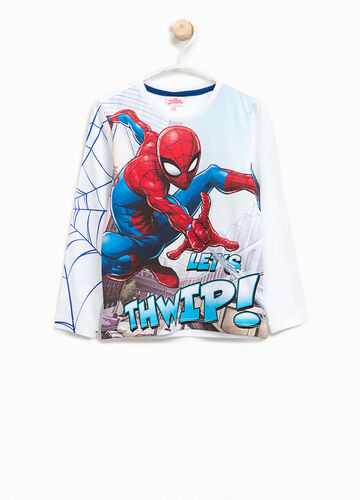 T-shirt in cotone maxi stampa Spiderman