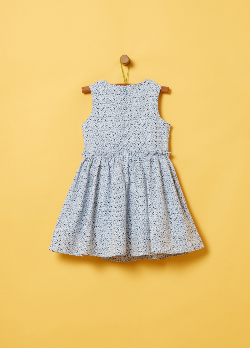 Sleeveless floral dress image number null