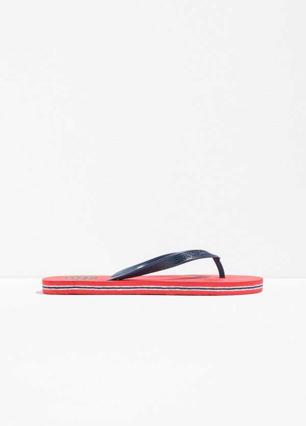 Striped flip flops by Maui and Sons | OVS