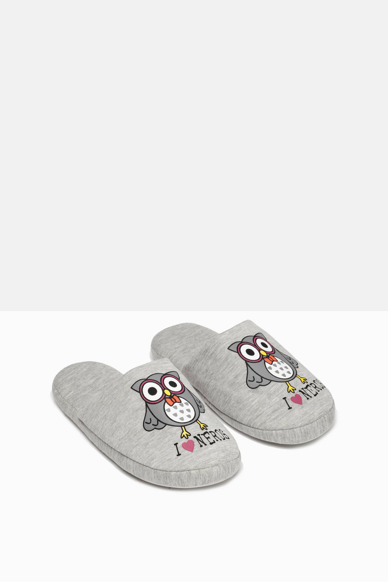 Printed slippers image number null