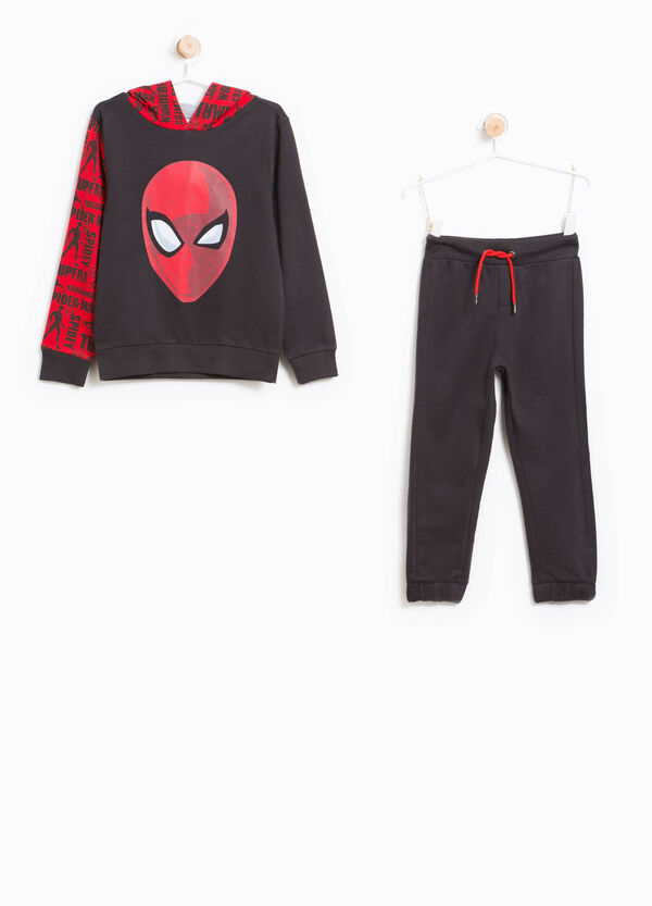 100% cotton tracksuit with Superman pattern