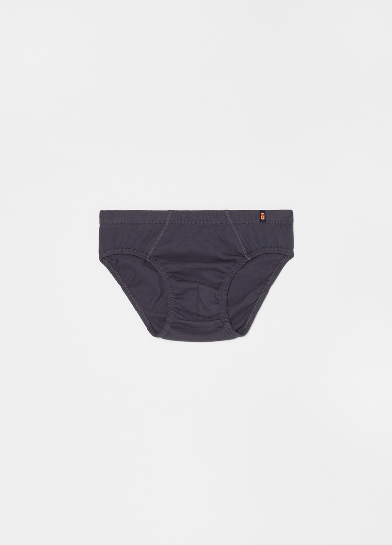 Three-pack patterned briefs in 100% cotton image number null