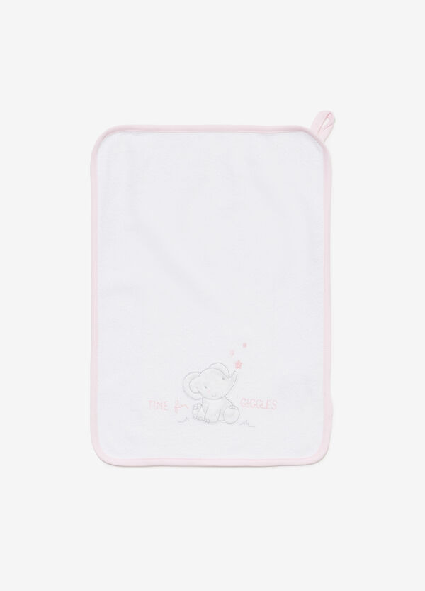 100% cotton towel with elephant