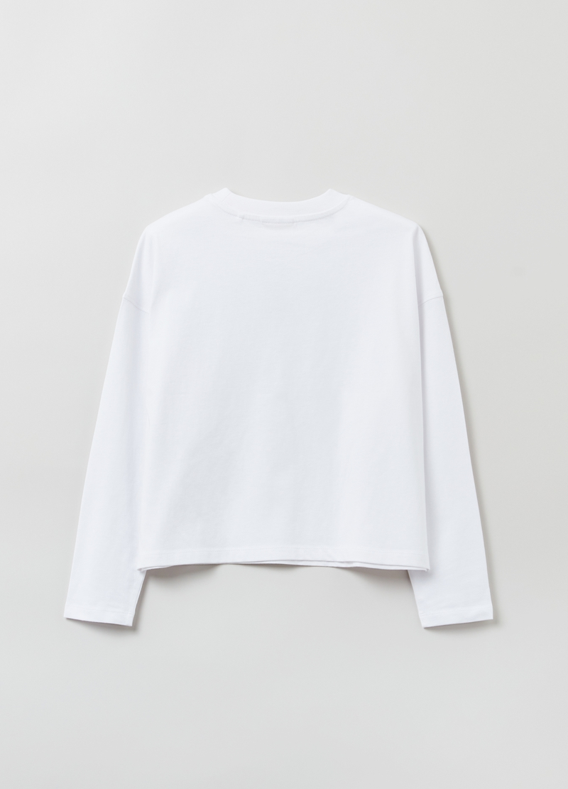 T-shirt oversize a maniche lunghe image number null