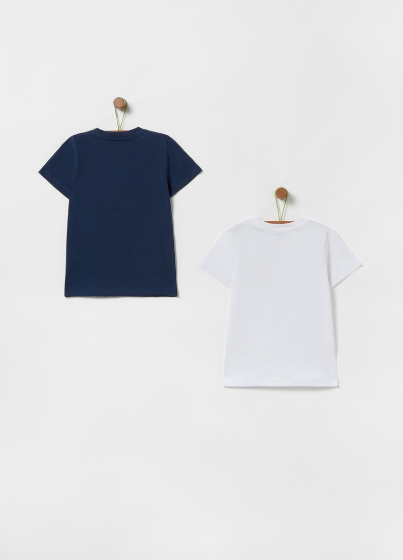 Two-pack T-shirts with skate print image number null