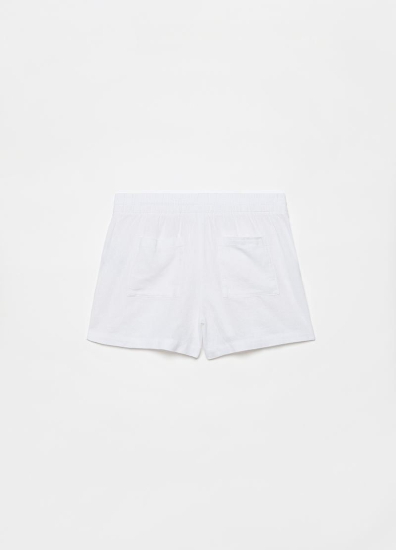 GAP linen and viscose shorts image number null