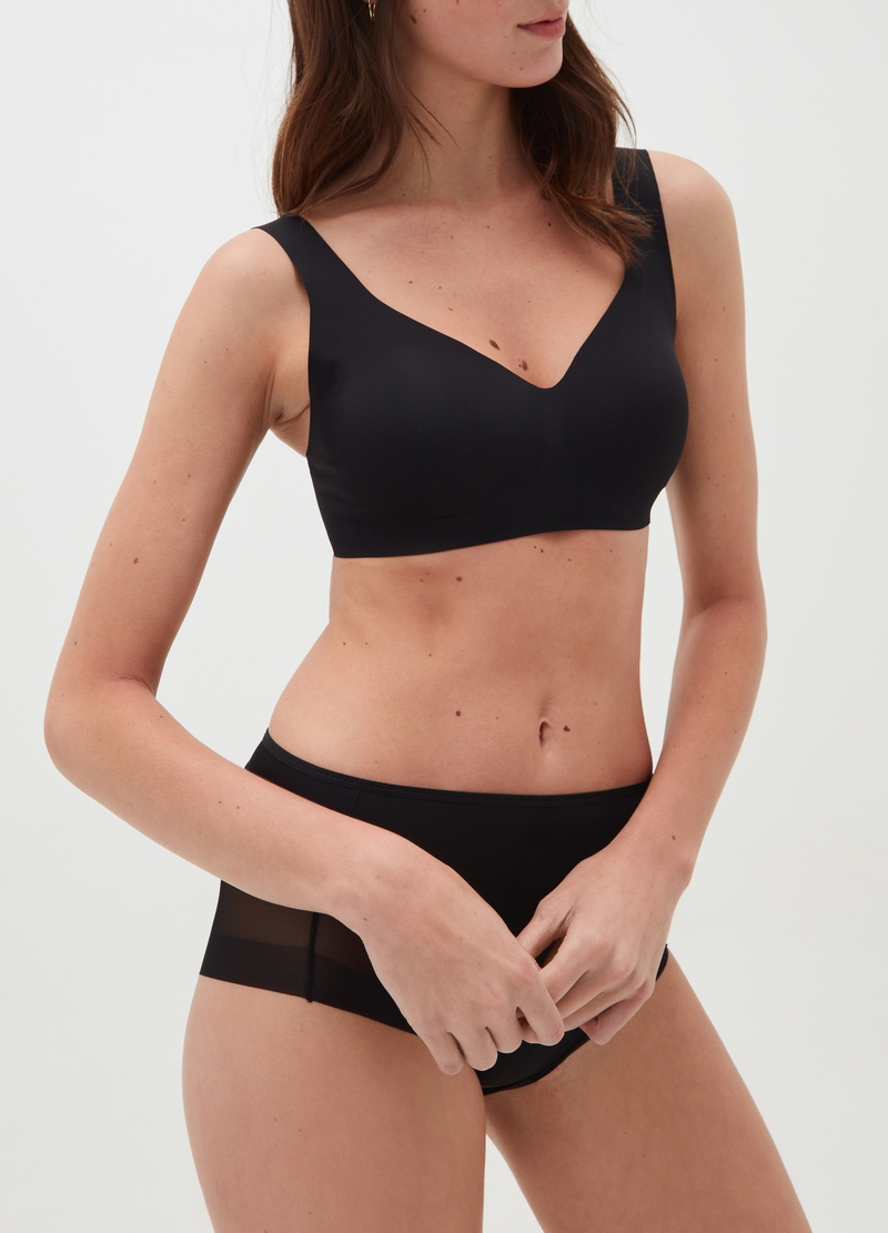 The Nude Effect bralette in microfibre image number null